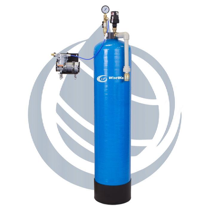 Очистка воды от железа аэрацией Air Pomp
