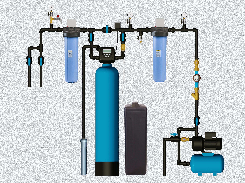 КП №1 - Реагентная очистка воды с комплексной загрузкой